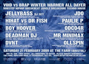 Void vs Brap Winter Warmer 2009